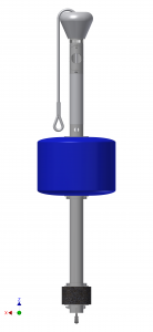 Buoy Master Assembly 15150D 01 blue