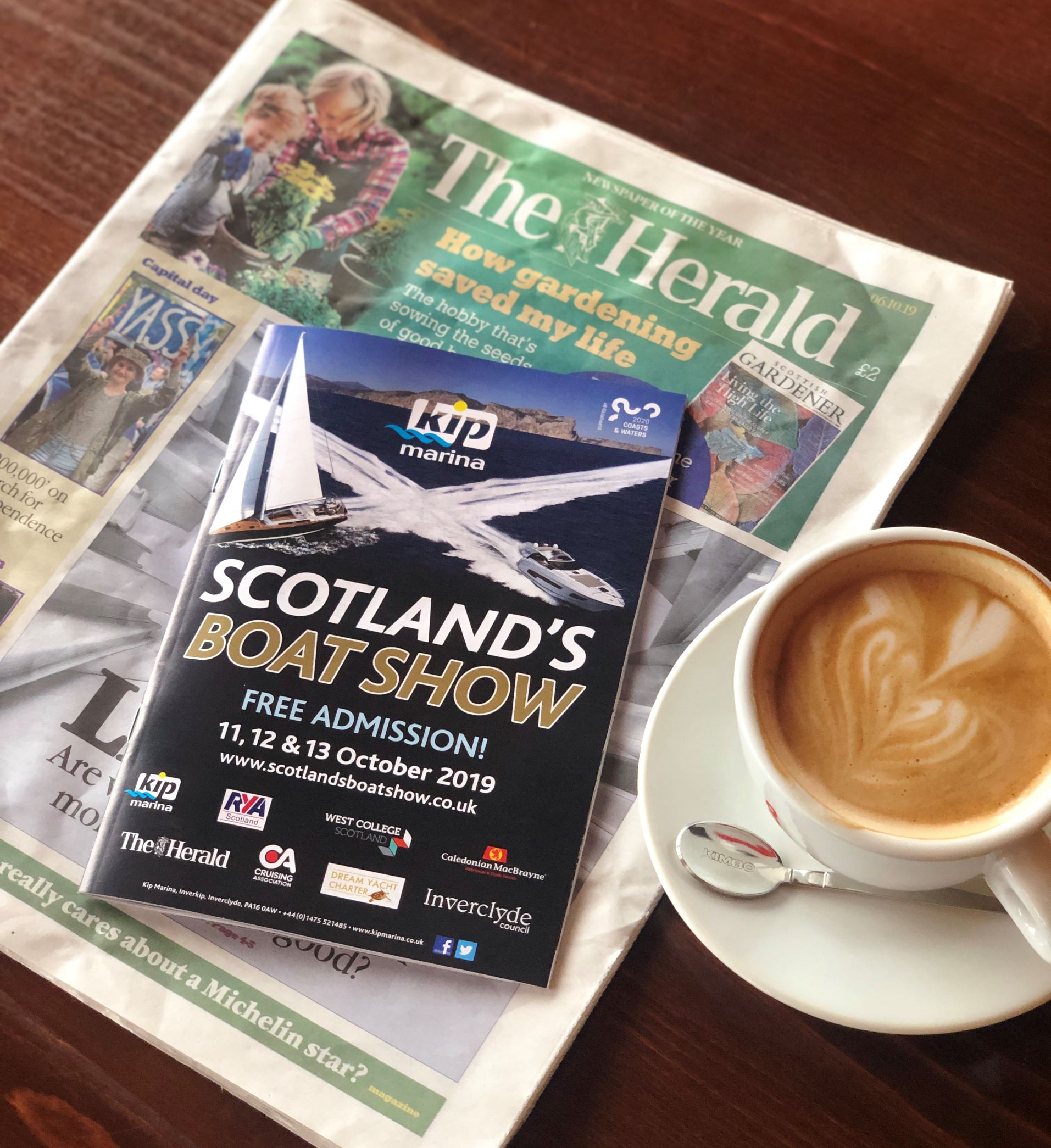 Get a free Scotland's Boat Show Guide with The Herald