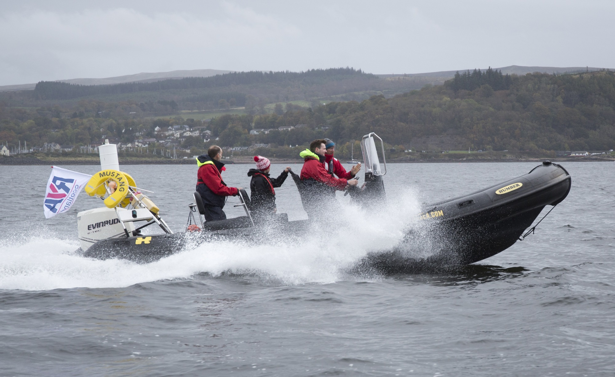 RYA Scotland RIB Training Experience – You & Sea